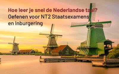 Hoe leer je snel de Nederlandse taal?
