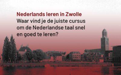 Nederlands leren Zwolle