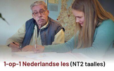 1-op-1 Nederlandse les  (NT2 taalles)